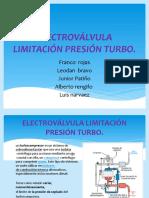 Electroválvula Limitación Presión Turbo