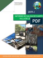 Informe Salida de Campo, Villa de Leyva