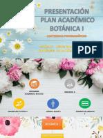 Presentación Programa Académico Botánica i