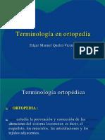 terminologia ortopedica