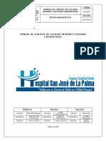 AD-M35 Manual Control Calidad Interno y Externo