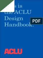 Aclu Design Handbook