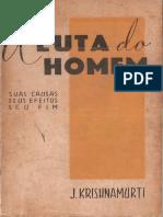 A luta do homem - Jiddu Krishnamurti.pdf