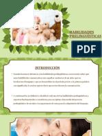 Habilidades Prelinguisticas