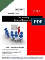 Paper DOE- Design of Experiments
