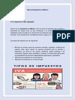 Tipos de Impuestos en Mexico.docx