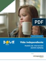 Modelo de Intervencion DOWN ESPA a Vida Independiente