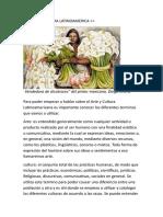 Arte y Cultura Latinoamerica