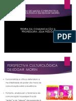 Teoria Culturológica Edgar Morin