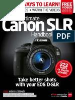 Ultimate Canon SLR Handbook - 2014 UK