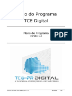 Plano Do Programa TCEPR Digital