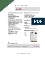 Gobi 3000 Data Sheet