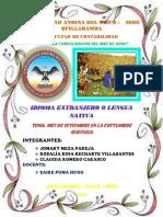 Universidad Andina Del Cusco Quechua