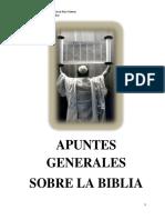 Apuntes Generales de La Biblia