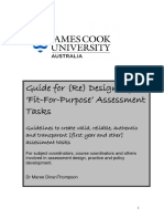 Fit for Purpose Assessments