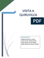 Informe de Quiruvilca