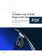 A Better Way to Lead Large Scale Change