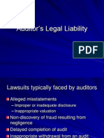 11 Auditor's Legal Liability