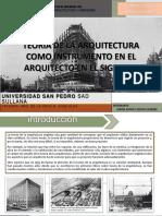 teoria de la arquitectura en el siglo xv
