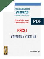 Cinematica Circular 2019 II
