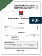 Laboratorio de Electronica Informe Practica #1