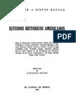 Estudios Históricos Americanos. Homenaje a Silvio Zavala
