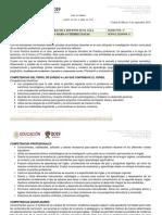 Plan Practica Docente Modelo 2018