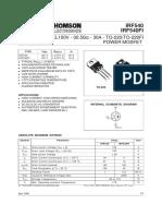 datasheet IRF540.pdf