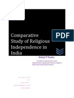 Comparative Study of Religious Independence