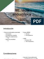 CPRE Tecnica Endoscopica