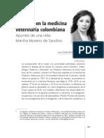 La mujer en la medicina veterinaria colombiana