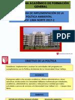Ppt Programa de Implementacion Politica Ambiental