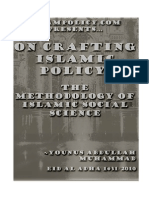 On Crafting Islamic Policy