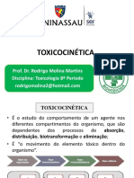 Aula 2 Toxicocinética