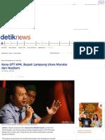 Kena OTT KPK, Bupati Lampung Utara Mundur Dari NasDem