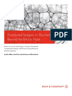 BAIN BRIEF Distributed Ledgers in Payments
