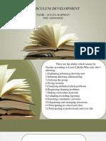 Ppt Development Curriculum