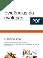 EVIDENCIAS EVOLUTIVAS