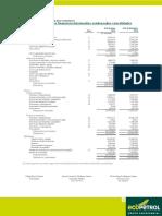 Balance Consolidado BalanceGeneral Junio Ecopetrol