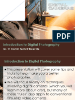 Introduction to Digital Photography Gr 11