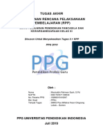 Tugas Akhir 1 Rpp - Dr Dadang Sundawa m Pd - Mauluddin Rahman Syah, S Pd
