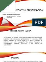 presentacion de medicamnetos