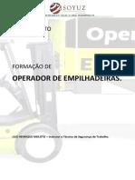 APOSTILA OPERADOR DE EMPILHADEIRA CONTRABALANÇADA
