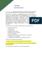 Foro 2.3 Enfoque Pedagogico 2019 2020 Unidad Educativa Santa Maria de La Esperanza