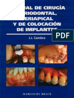 Manual de Cirugia Periodontal, Periapical y de Colocacion de Implantes