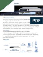 BWFCPC-E8000 Multi Format HD Encoder