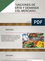 Funciones de Oferta y Demanda en El Mercado