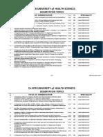 2016 PG Dissertation Topics