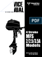 Service Manual for MFS2 2.5 3.5A