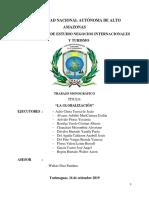 Informe de Globalización